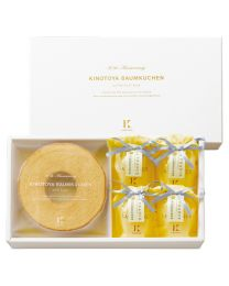 KINOTOYA Baked & Cake Baumkuchen & La France gift (S) Made in HOKKAIDO Free Shipping New Box