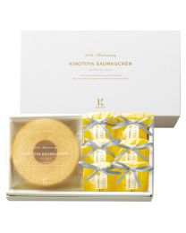 KINOTOYA Baked & Cake Baumkuchen & La France gift (M) Made in HOKKAIDO Free Shipping New Box