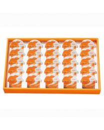 HORI Jelly Yubari melon pure jelly 25 pieces Made in HOKKAIDO Free Shipping New Box