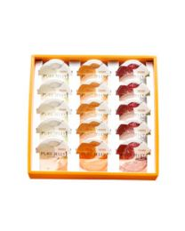 HORI Jelly Hokkaido fruit jelly set Yubari King, pears, grapes each 5 pcs Made in HOKKAIDO Free Shipping New Box