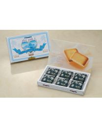 Ishiya Seika Shiroi Koibito (White Lover) White 18 pieces  Made in HOKKAIDO Free Shipping New Box