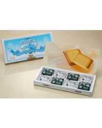 Ishiya Seika Shiroi Koibito (White Lover) White 24 pieces  Made in HOKKAIDO Free Shipping New Box