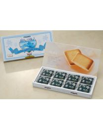 Ishiya Seika Shiroi Koibito (White Lover) White&Black 24 pieces  Made in HOKKAIDO Free Shipping New Box