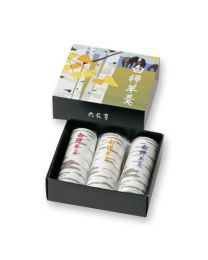 ROKKATEI Wagashi Shirakaba Yo-kan Sweet bean jelly 3 bar Made in HOKKAIDO Free Shipping New Box